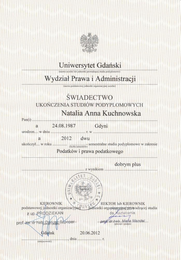 Podatki i prawo podatkowe - Biuro rachunkowe Gdynia