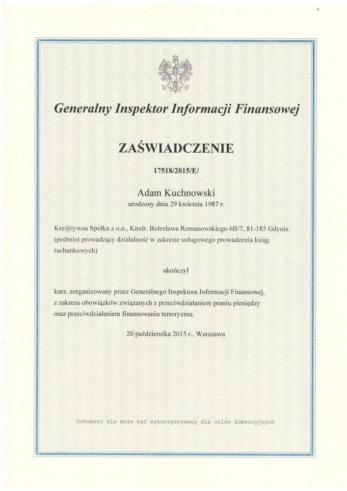 Przeciwdziałanie praniu pieniędzy - Biuro rachunkowe Gdynia