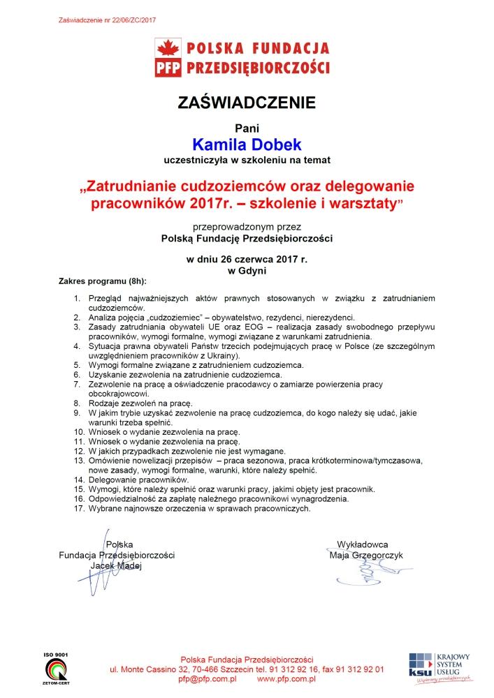 Zatrudnianie cudzoziemców - Biuro rachunkowe Gdynia
